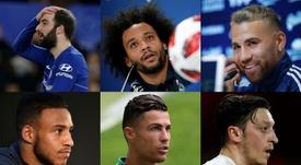 Les dix joueurs qui ont perdu le plus de valeur cette saison. AFP