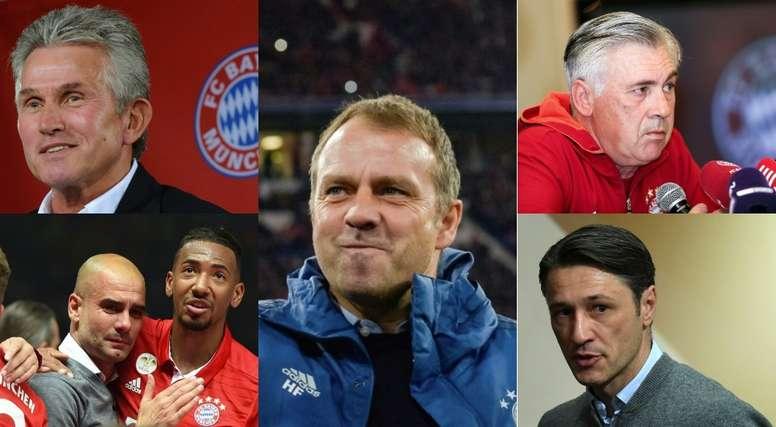 Flick, lo mejor que le ha pasado al Bayern. EFE/AFP