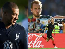 Mbappe, Kane and Perisic have all seen their vaule go up. EFE/AFP/Agencias