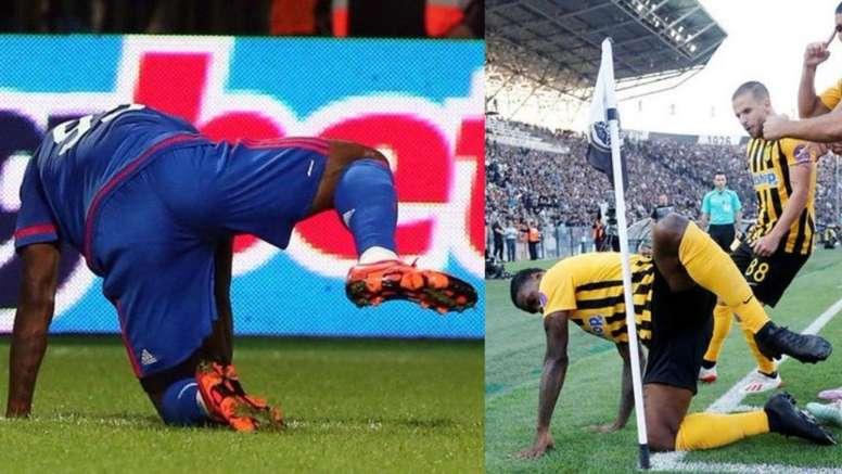 Ideye Brown tiene claro que nunca jugará en el PAOK. EFE/Archivo