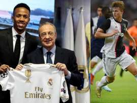 Madrid signed Militao. EFE/AFP
