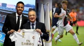 Madrid signed Militao. EFE/AFP