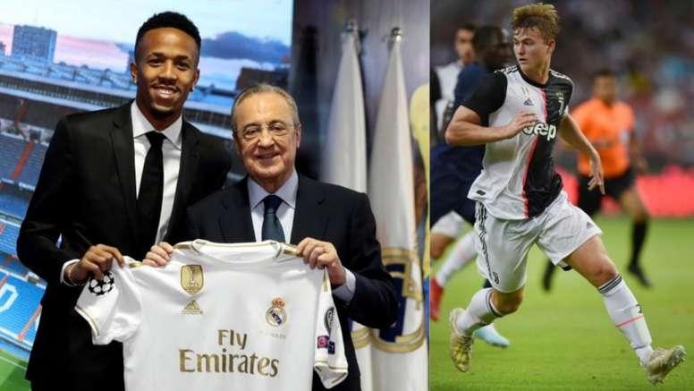 El Madrid pudo ir a por De Ligt el pasado verano, pero prefirió a Militao. EFE/AFP