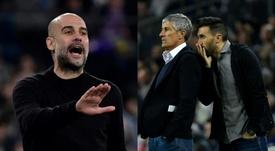 Imprensa inglesa coloca Guardiola de volta ao Barça. AFP