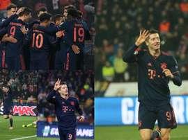 Lewandowski firmó otro partido de '10'. FCBayern