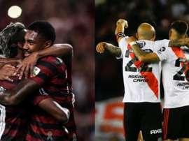Les compos probables de la finale de la Copa Libertadores entre Flamengo et River Plate. EFE