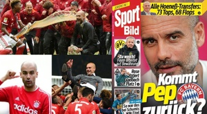 German newspaper claims Guardiola could come back to Bayern.  EFE/AFP/SportBild