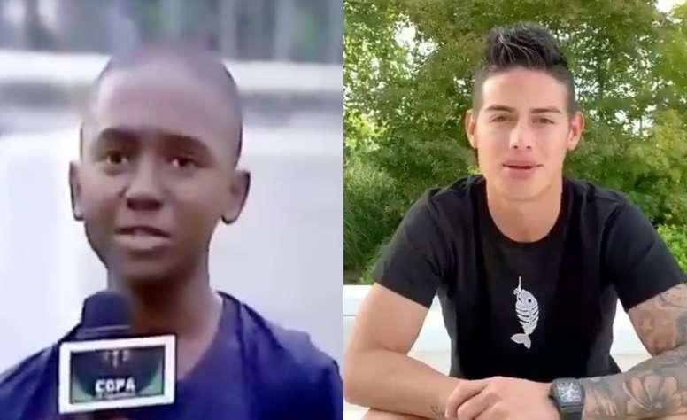 Un joven le dedicó a su abuela un gol y hasta James tuvo palabras para él. TeleAntioquia