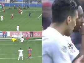 Gelson Martins continua a ajudar o Mónaco. Twitter/ElevenSports2