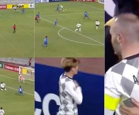 Iniesta, une nouvelle fois décisif lors de la victoire du Vissel Kobe. Capture/News24