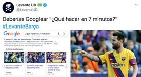 Levante trolle le Barça. LevanteUD/EFE
