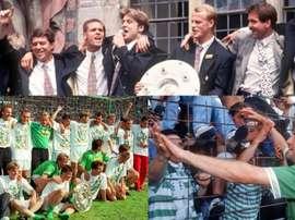 Le Werder avait été sacré à Stuttgart en 1993. Picture-alliance/SvenSimon