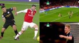 Le suicide tactique d'Arsenal sur le troisième but de City. beINSports