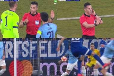 La acción del penalti en Gelsenkirchen y el VAR. Melbet