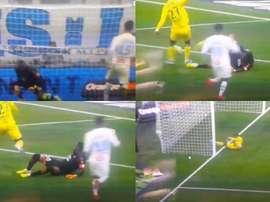 Mandanda falló y Álvaro se metió el gol en su portería. Canal+
