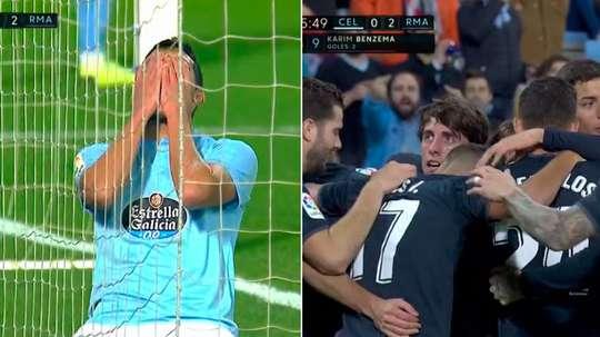Cabral culminó, a su pesar, el jugadón de Benzema. Movistar+