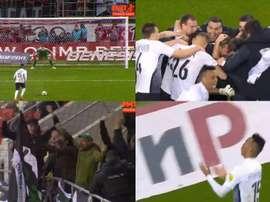 El Tosno eliminó por sorpresa al Spartak. Twitter