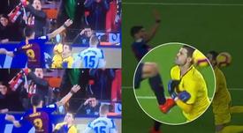 Suarez makes it 2-1 against Leganes. CAPTURA