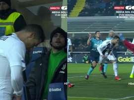 Cristiano Ronaldo a joué le match avec une mission claire. GOL