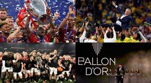 Veja como foi o ano futebolístico de 2019. AFP/EFE