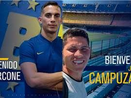 Boca ha anunciado dos fichajes de golpe. Twitter/BocaJrsOficial
