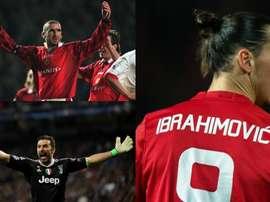 Ibra et Cantona n'ont pas gagné la C1, Buffon devrait suivre le même chemin. BeSoccer/EFE/AFP