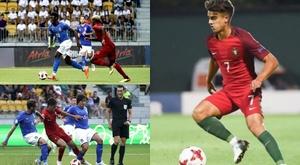 Joao Filipe, Francisco Trincao et Moise Kean, les joueurs ayant le plus fait parler d'eux. BeSoccer
