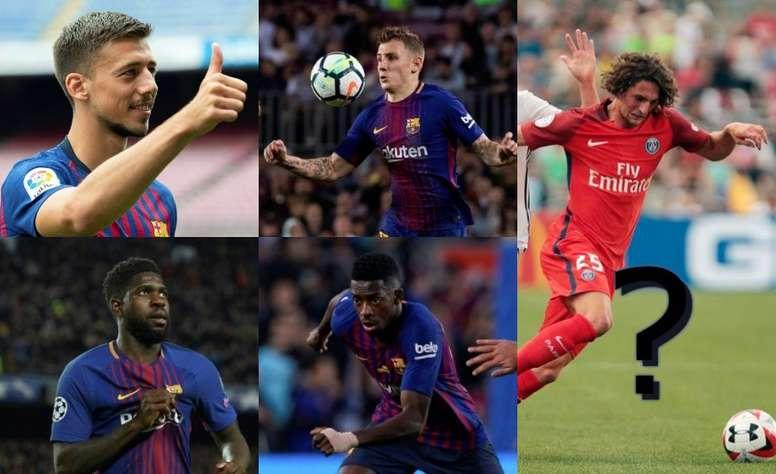 Après la signature de Lenglet, le Barça veut recruter Rabiot. EFE/AFP