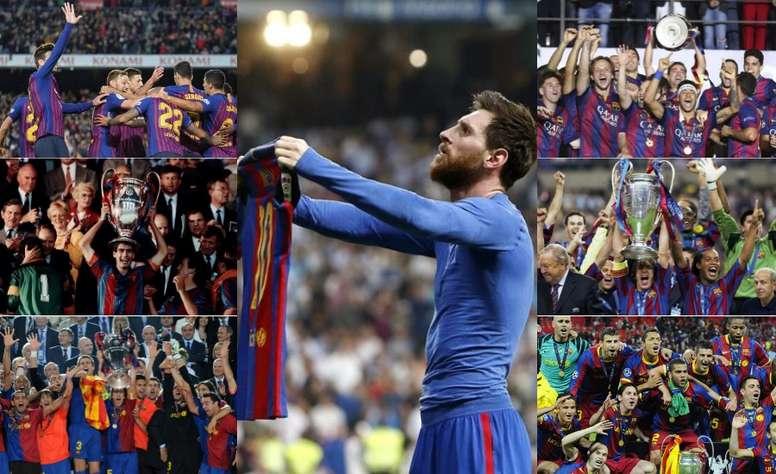 Le Barça, un club historique. EFE/AFP