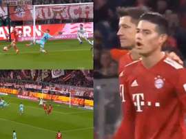 Bayern needed just over half an hour to seal the victory. Captura/Movistar
