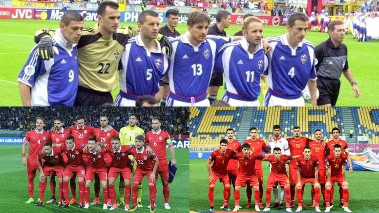 De aquella Yugoslavia, estas Serbia y Montenegro. FSS/FSCG