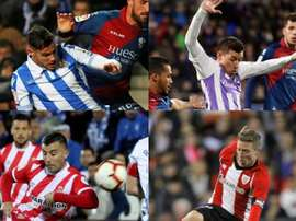 Players who have been fouled the most in La Liga. EFE