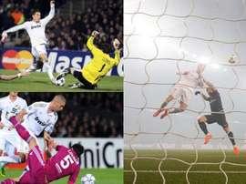 Les cinq dernières visites du Real Madrid en France. AFP/EFE/Archive