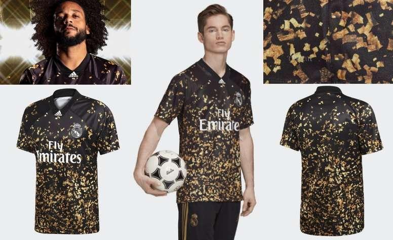 Le Real Madrid, Adidas et EA Sports présente le nouveau maillot merengue. Adidas/RealMadrid