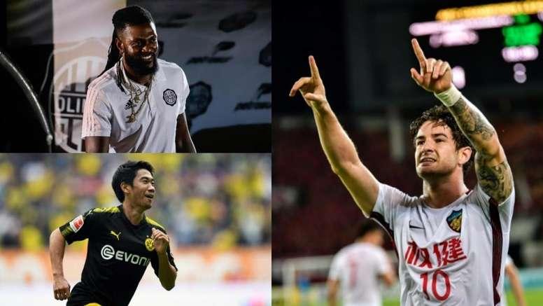 La lista de jugadores 'top' que todavía siguen sin equipo. EFE - AFP