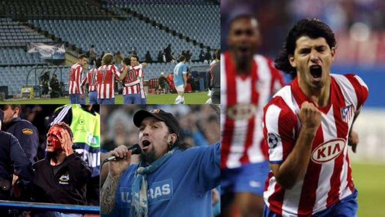 Atletico-Marseille was a fiery encounter in 2008. BeSoccer