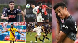 Los cracks del futuro. AFP/FCBarcelona/SevillaFC/SCOAngers