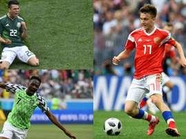 Musa, Golovin ou Lozano ont brillé. AFP
