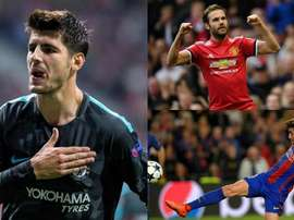 Morata, Mata and Roberto all missed out on selection. BeSoccer