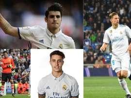 Hoje no Atlético e ontem no Real Madrid. EFE/AFP