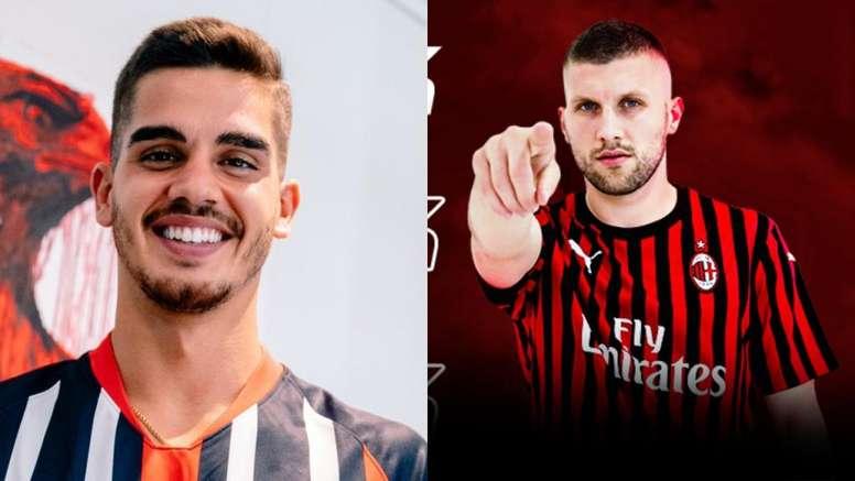 UFFICIALE - Il Milan annuncia l'acquisto di Rebic; André Silva  all'Eintracht - BeSoccer