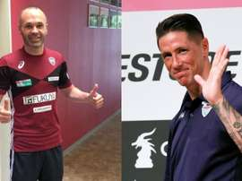 Iniesta and Torres were reunited as they faced each other in Japan. BeSoccer