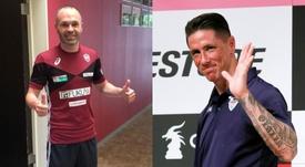 Iniesta y Torres debutan en Japón. BeSoccer