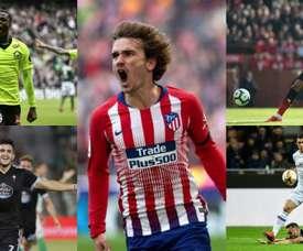 Le Barça cherche un numéro 9. EFE/AFP