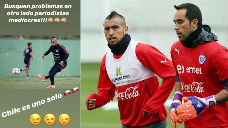 Vidal zanjó los problemas con Bravo. Collage/AFP/Instagram