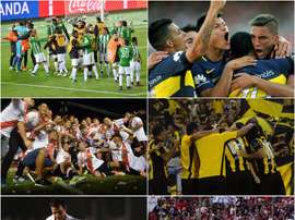 Choose between Atletico Nacional, Boca Juniors, River Plate, Penarol, Nacional and Olimpia. BeSoccer