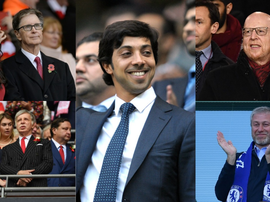 As cinco grandes fortunas da Premier League. Collage/BeSoccer