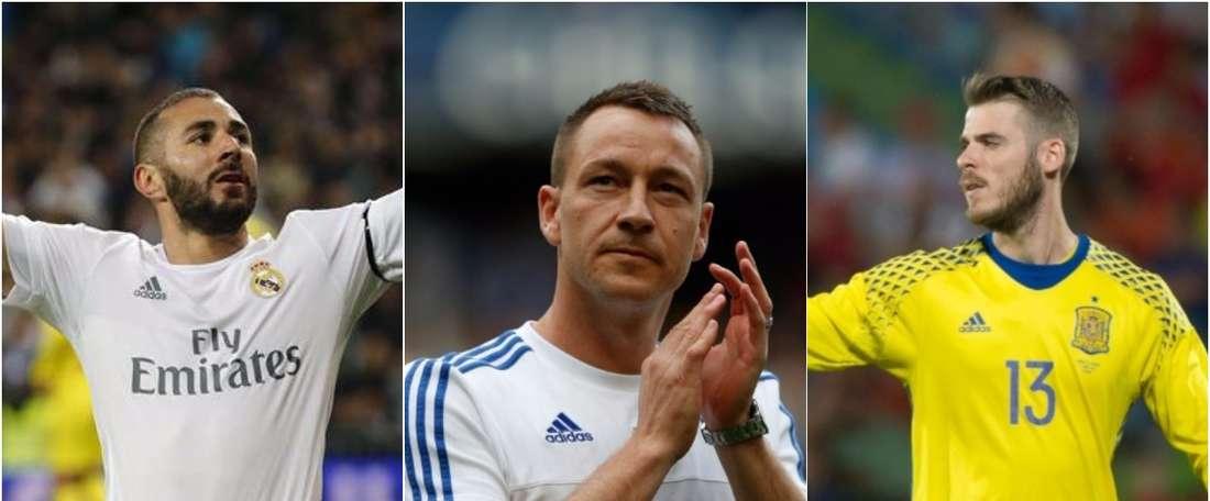Benzema, John Terry y De Gea, tres futbolistas envueltos en polémicas sexuales. BeSoccer
