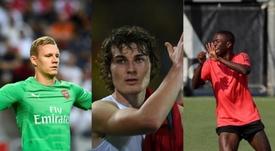 Bernd Leno, Caglar Soyuncu y Vinicius no jugaron muchos minutos. AFP/EFE