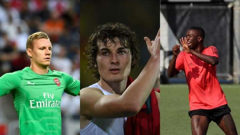 Bernd Leno, Caglar Soyuncu and Vinicius have not seen much action on the field. AFP/EFE